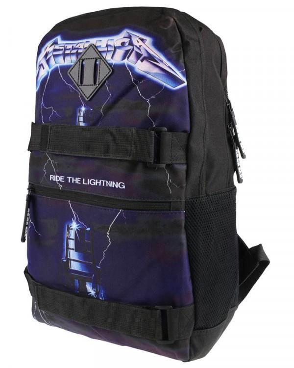 Metallica - Ride The Lightning Black Skate Backpack