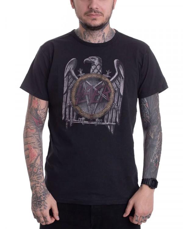 Slayer - Eagle Vintage Black Men's T-Shirt