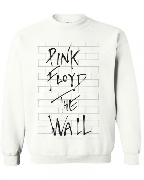 Pink Floyd - The Wall Album White Men's Sweatshirt