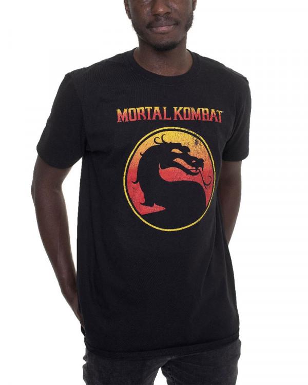 Mortal Kombat - Dragon Outline Men's T-Shirt