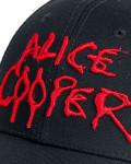 Alice Cooper - Dripping Logo Black Baseball Cap