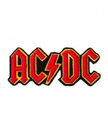 AC/DC - Cut-Out 3D Logo Embroidered Patch