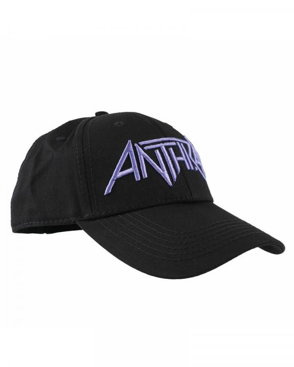 Anthrax - Logo Black Baseball Cap