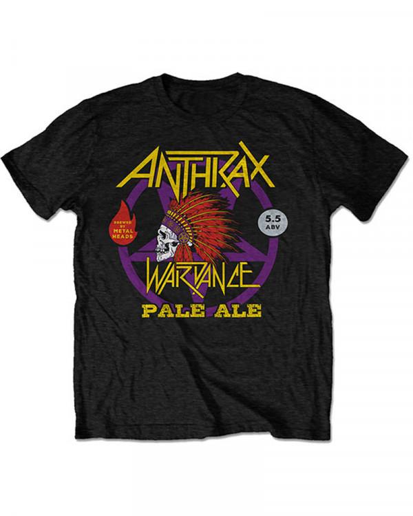 Anthrax - Wardance Pale Ale World Tour 2018 Men's T-Shirt