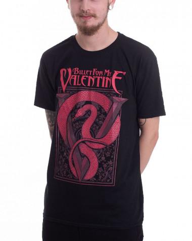 Bullet For My Valentine - Red Snake Men's T-Shirt