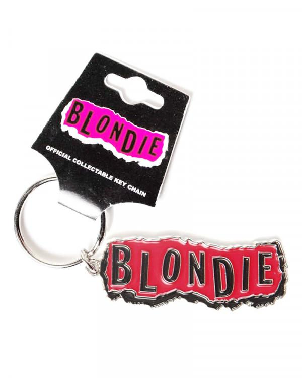Blondie - Punk Logo Keychain