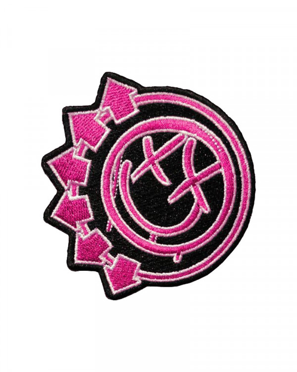 Blink-182 - Neon Six Arrows Embroidered Patch