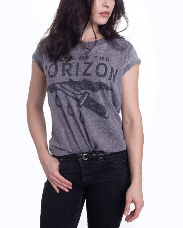 Bring Me The Horizon - Wound Burn Out Charcoal Women's T-Shirt