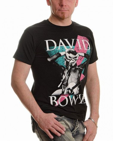 David Bowie - Thunder Men's T-Shirt