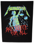 Metallica - And Justice For All Back Patch