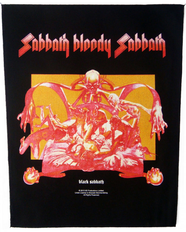 Black Sabbath - Sabbath Bloody Sabbath Back Patch