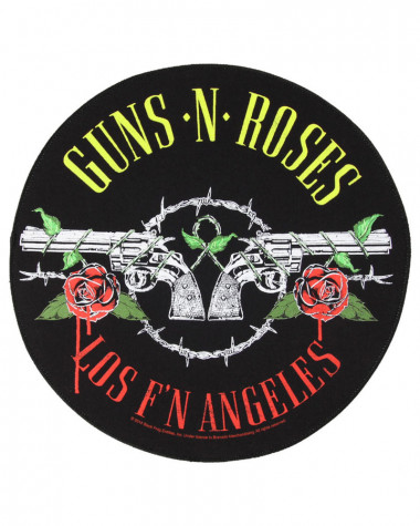 Guns N' Roses - Los F'N Angeles Back Patch