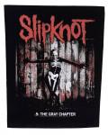 Slipknot - .5: The Gray Chapter Back Patch