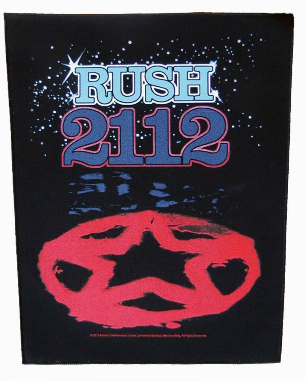Rush - 2112 Back Patch