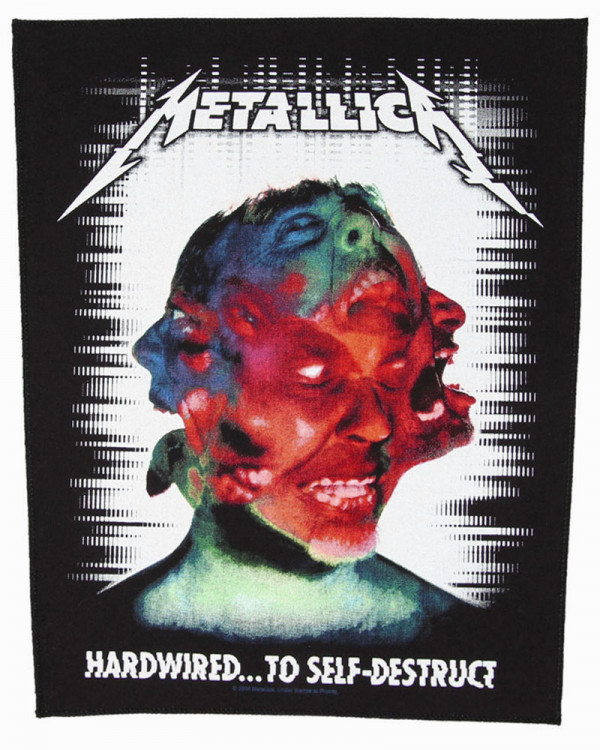 Metallica - Hardwired to Self Destruct Back Patch