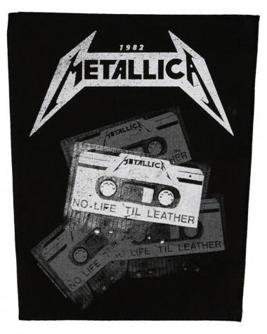Metallica - No Life 'Til Leather Back Patch