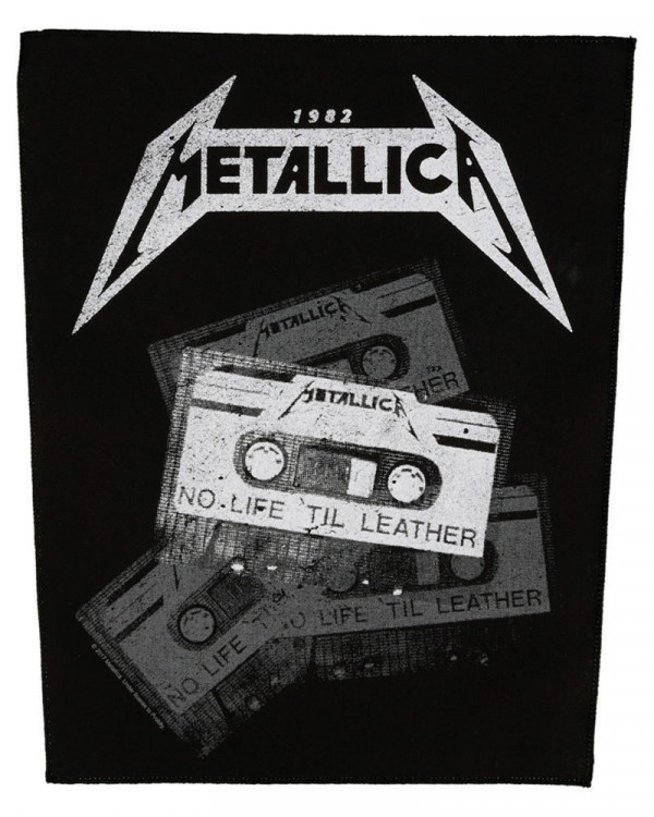 Metallica - No Life 'Til Leather Back Patch