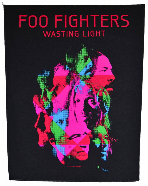 Foo Fighters - Wasting Light Back Patch