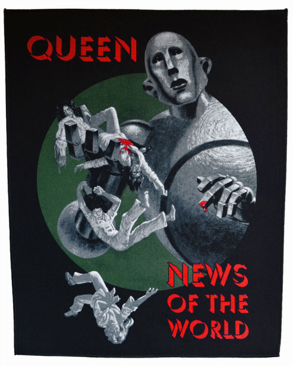 Queen - News Of The World Back Patch