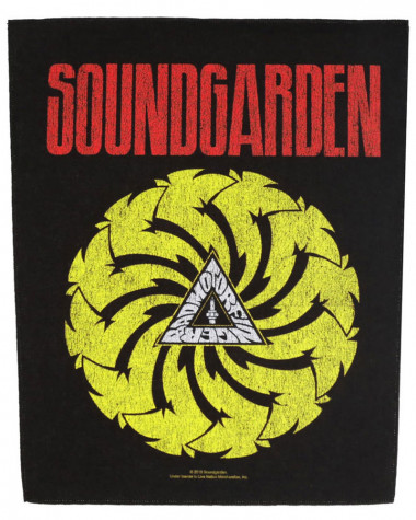 Soundgarden - Badmotorfinger Back Patch