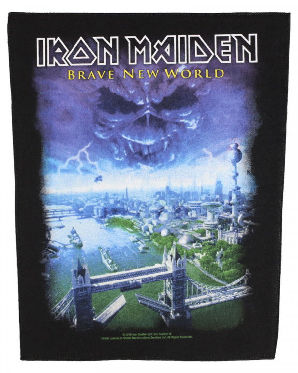 Iron Maiden - Brave New World Back Patch