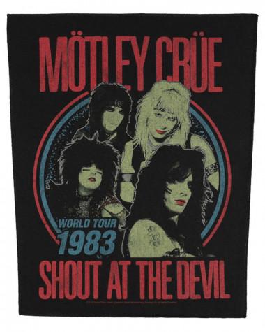 Motley Crue - Shout At The Devil Back Patch
