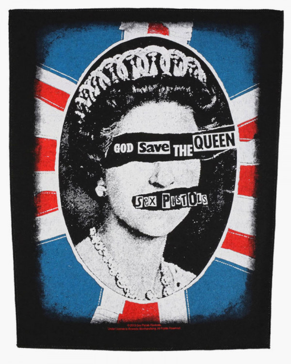 Sex Pistols - God Save The Queen Back Patch