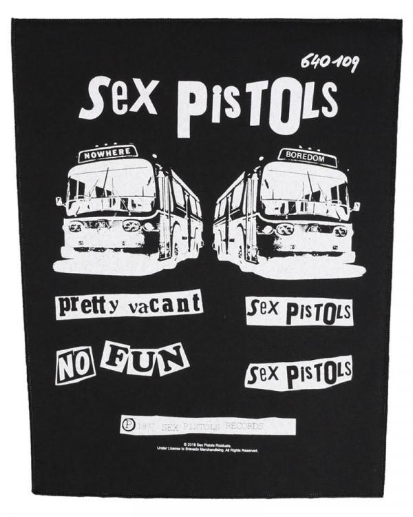 Sex Pistols - Pretty Vacant Back Patch