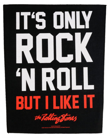 Rolling Stones - It's Only Rock N' Roll Back Patch
