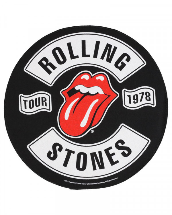 Rolling Stones - Tour 1978 Back Patch