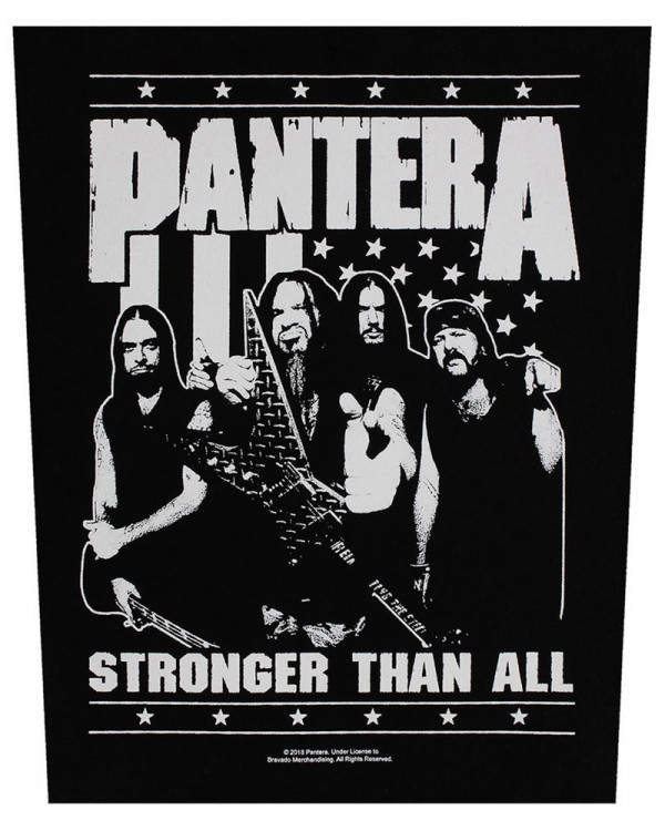 Pantera - Stronger Than All Back Patch