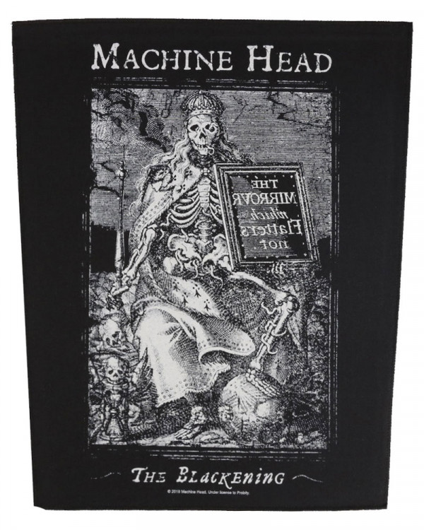 Machine Head - The Blackening Back Patch
