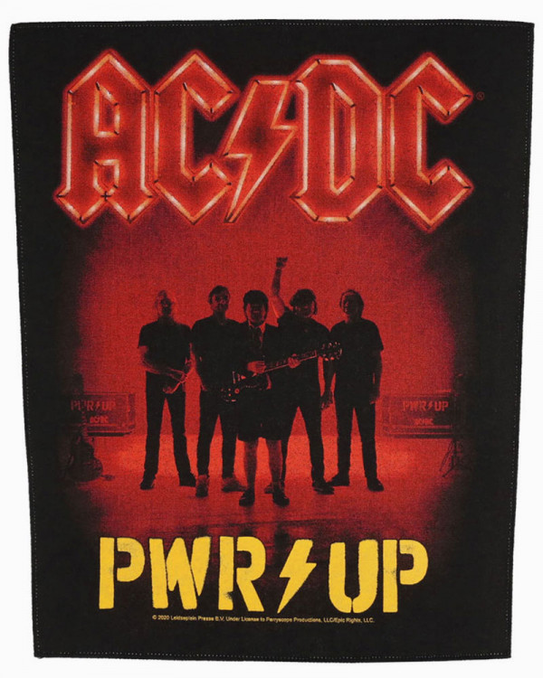 AC/DC - PWR UP Back Patch