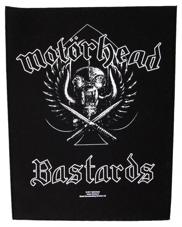 Motorhead - Bastards Back Patch