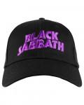 Black Sabbath - Demon & Logo Black Baseball Cap