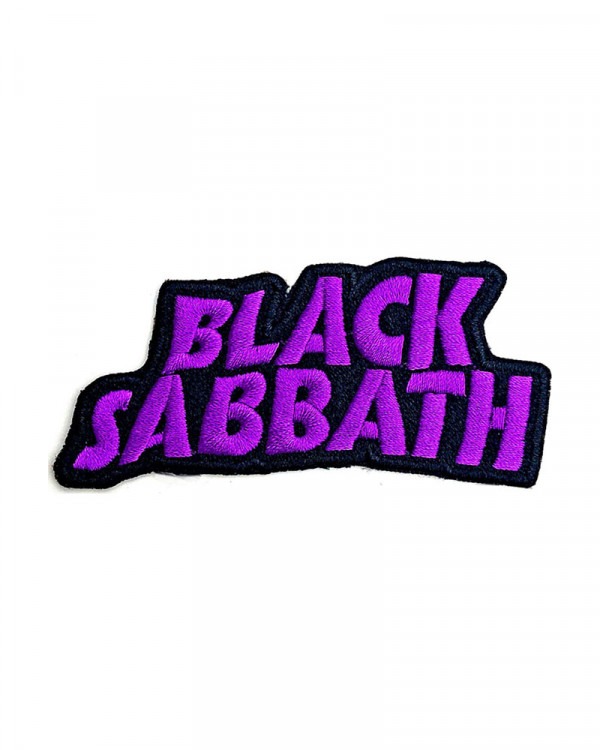 Black Sabbath - Cut-Out Wavy Logo Embroidered Patch