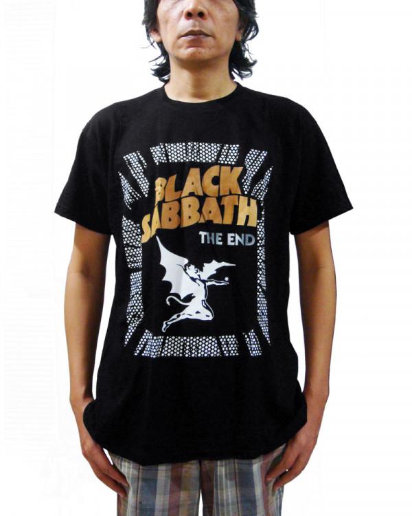 Black Sabbath - The End Demon Black Men's T-Shirt
