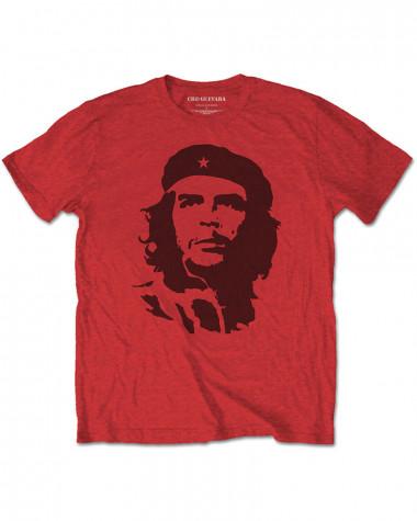 Che Guevara - Black On Red Men's T-Shirt