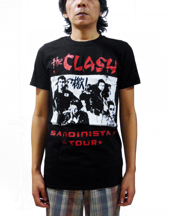 Clash - Sandinista Tour Men's T-Shirt