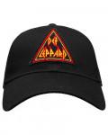 Def Leppard - Tri Logo Black Baseball Cap