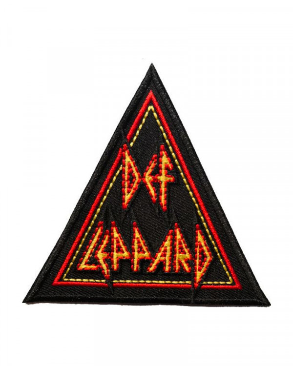 Def Leppard - Tri-Logo Embroidered Patch
