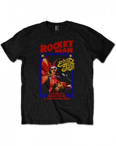 Elton John - Rocketman Feather Suit Men's T-Shirt