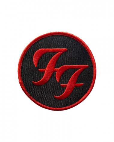 Foo Fighters - Circle Logo Embroidered Patch