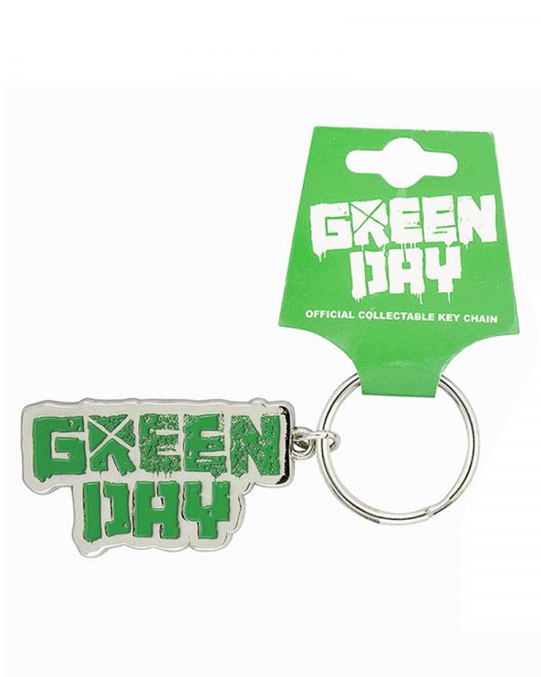 Green Day - Band Logo Keychain