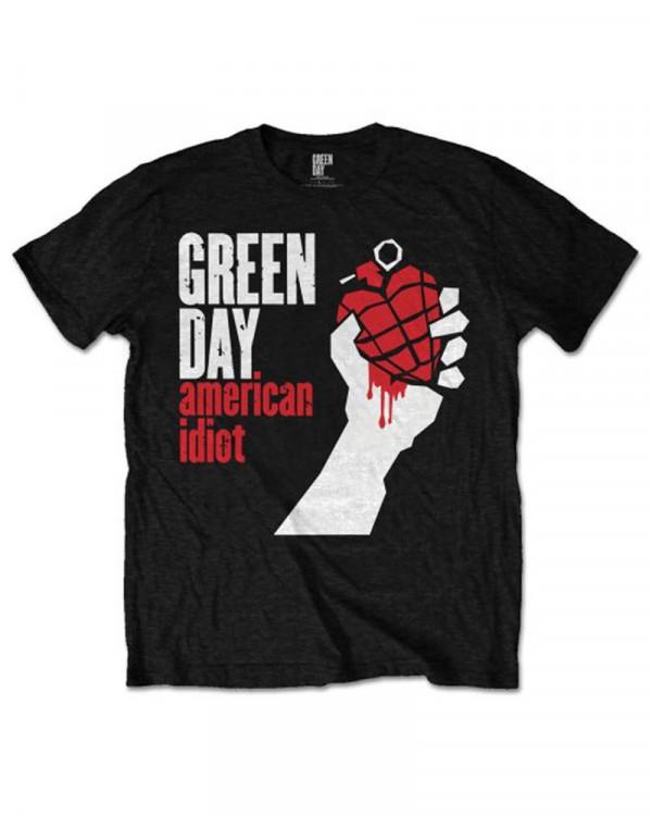 Green Day - American Idiot Black Men's T-Shirt