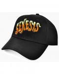 Genesis - Orange Classic Logo Black Baseball Cap