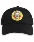 Guns N' Roses - Circle Logo Black Baseball Cap