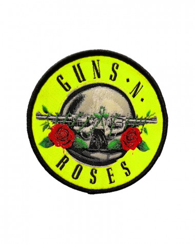 Guns N' Roses - Classic Circle Logo Embroidered Patch