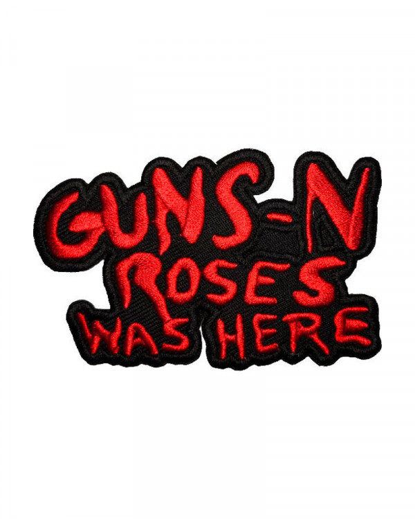 Guns N' Roses - Cut-Out Was Here Embroidered Patch