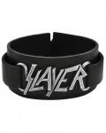Slayer - Logo Leather Wrist Strap